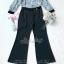 เสื้อผ้าแฟชั่นเกาหลี พร้อมส่ง เสื้อเชิ๊ท กับ กางเกงขายาวผ้าเครป thumbnail 15