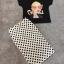 เสื้อผ้าเกาหลี พร้อมส่ง ชุดเซ็ต Chanel เสื้อcotton thumbnail 8