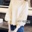 เสื้อเกาหลี พร้อมส่ง เสื้อผ้าลูกไม้ สีขาวสไตล์วินเทจเฟมินีน thumbnail 11