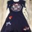 ชุดเดรสเกาหลี พร้อมส่ง ชุดเดรส ปัก ผ้าซิลผสม Poleyester thumbnail 7