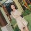 เสื้อผ้าเกาหลี พร้อมส่ง จั้มสูท ลูกไม้ สีทองหรู thumbnail 7