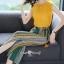 เสื้อผ้าเกาหลี พร้อมส่ง ชุดเซ็ทเสื้อ+กางเกงเกาหลี thumbnail 4