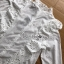 เสื้อเกาหลี พร้อมส่ง เสื้อผ้าคอตตอนสีขาวทรงคอสูง thumbnail 16