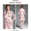 เดรสเกาหลี พร้อมส่ง เดรสผ้าลูกไม้เนื้อดีสีชมพูโอรส thumbnail 3