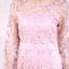 ชุดเดรสเกาหลี พร้อมส่ง Dress ซีทรูปักลูกไม้ดอกลอย thumbnail 14