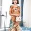 ชุดเดรสเกาหลี พร้อมส่ง Dress ทรงหน้าสั้นหลังยาว คอกลม thumbnail 5