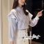 เสื้อเกาหลี พร้อมส่ง เสื้อเชิ้ท ทรงคอตั้งเก๋ๆ thumbnail 11