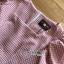 เดรสเกาหลี พร้อมส่ง ชุดเดรส ผ้าคอตตอนทอลายตาราง thumbnail 13