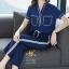 เสื้อผ้าเกาหลี พร้อมส่ง ชุดเซท เสื้อ+กางเกง thumbnail 10