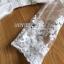 เดรสเกาหลี พร้อมส่ง เดรสผ้าลูกไม้ สีขาวสไตล์หวาน thumbnail 14