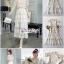 เสื้อผ้าเกาหลี พร้อมส่ง เซ็ทเนื้อผ้าโทนสีครีมนู๊ด thumbnail 2