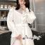 เสื้อเกาหลี พร้อมส่ง เสื้อเชิ๊ท เนื้อผ้าคอตตอนสีขาว thumbnail 5