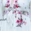 ชุดเดรสเกาหลี พร้อมส่ง Maxi ปักลายดอกไม้ thumbnail 5