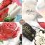 ชุดเดรสเกาหลี พร้อมส่ง ชุดเดรสยาว ลายดอกกุหลาบ thumbnail 9
