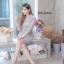 ชุดเดรสเกาหลี พร้อมส่ง Dress ลูกไม้เกาหลี คอปกเชิ้ต thumbnail 6
